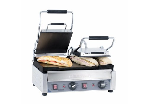 Casselin Dubbele Contact Grill Glad   445x 242mm