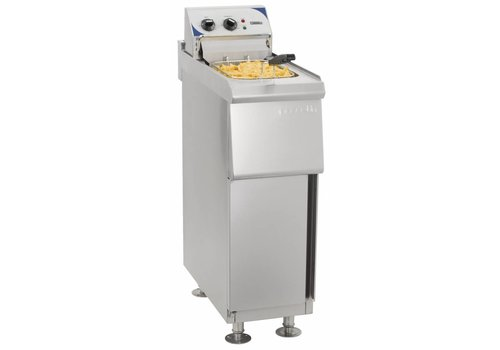 Casselin Electric Fryer with Mount Stainless Steel | 10L