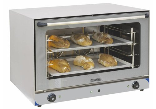 Casselin Horeca Stainless Steel Convection Oven with Humidifier | 6400Watt