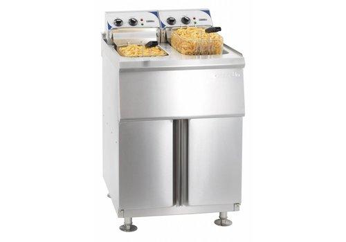 Casselin Electric Fryer with Mount | 2x10L