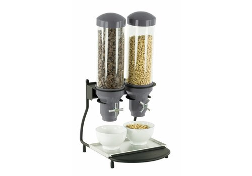 Casselin Double muesli dispenser | 2 x 3 liters