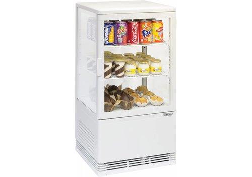 Casselin Soft drinks Showcase White | comact Series