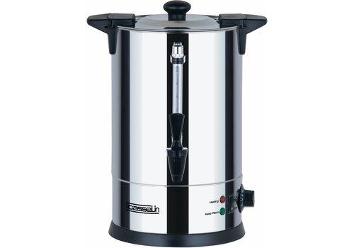 Casselin Edelstahl-Heißwasserspender mit Wasserhahn 6,8 Liter