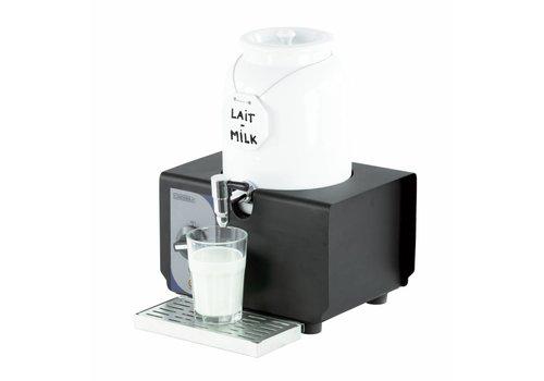 Casselin Warme melk dispenser wit porselein | 4 Liter