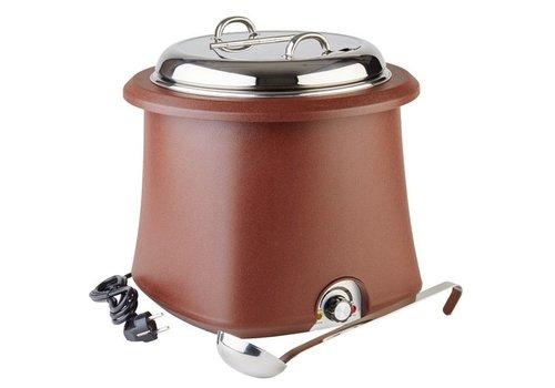 APS Bruine Soeppan uitneembaar - 10 Liter