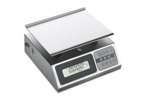 Diamond Weegschaal in R.V.S. 10 kg   per 2 gram