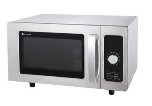 Hendi Stainless steel microwave | 1000 watts