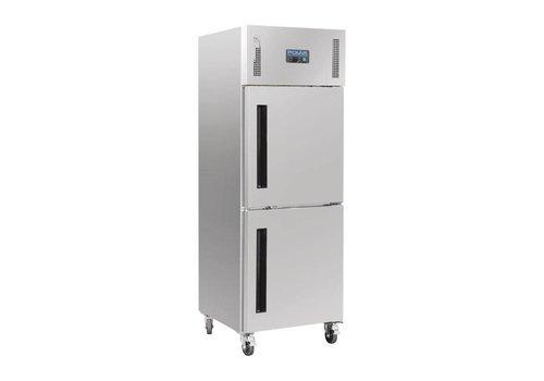 Polar Gastro koeling met gedeelde deur | 600ltr