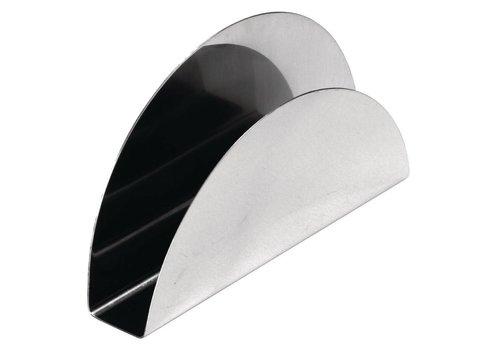 Olympia napkin holder | 7.6 x 13 x 2 cm