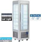 Diamond Stainless steel Freezer Showcase | 5 levels | 360 liters