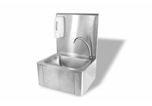 HorecaTraders Handwaschbecken mit Knieoperation | bestselling