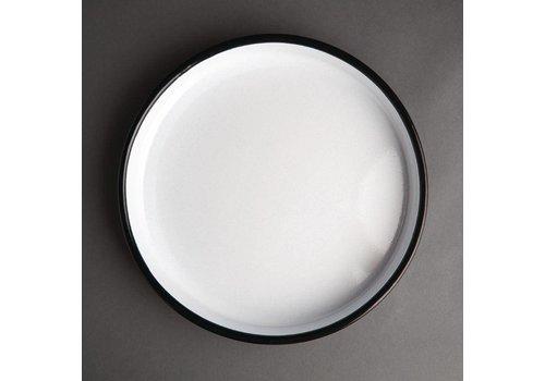 Olympia enamelled tray around 32 cm