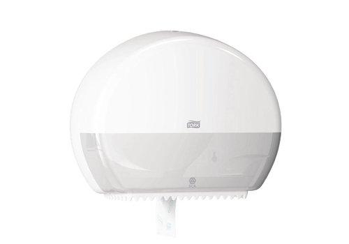HorecaTraders Tork Mini Jumbo Toiletroldispenser   Wit