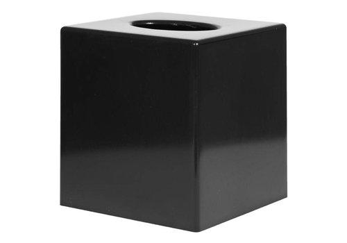 HorecaTraders Tissue Box Square | Black