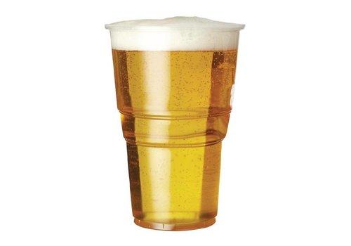 HorecaTraders Plasic bierglas (1000 stuks)