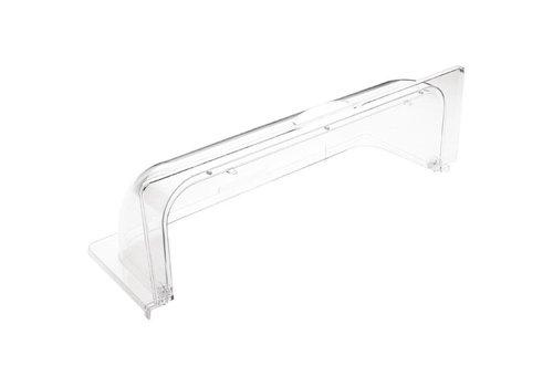 HorecaTraders Kunststoff Schiebedeckel | GN 1/1