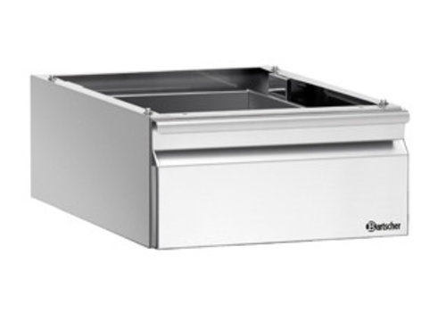 Bartscher Schublade | 1 x GN1 / 1 | Installation vor Ort | 600-Serie