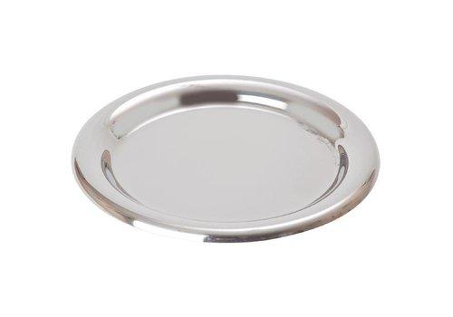 HorecaTraders Account scale stainless steel   Ø 14 cm