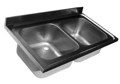 HorecaTraders Rinse Tabletop | 2 sinks | 4 formats