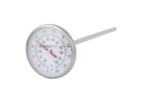 Hygiplas Analoges Küchenthermometer -10 ° C bis + 110 ° C