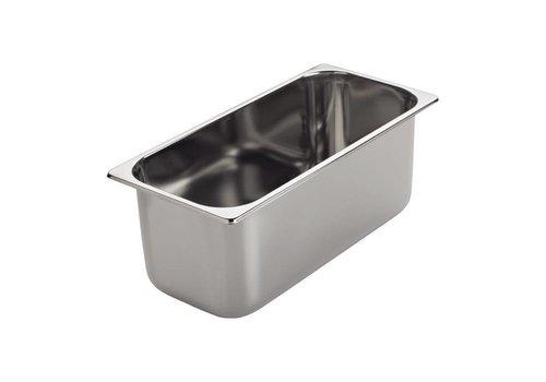 Gastro-M ice-uitschepbak | X16,5 x 36 8 cm