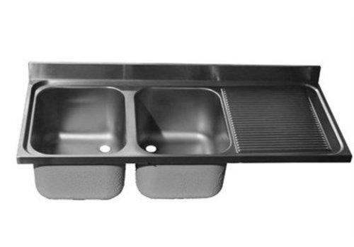HorecaTraders Washbasin | 2 sinks left | 8 formats