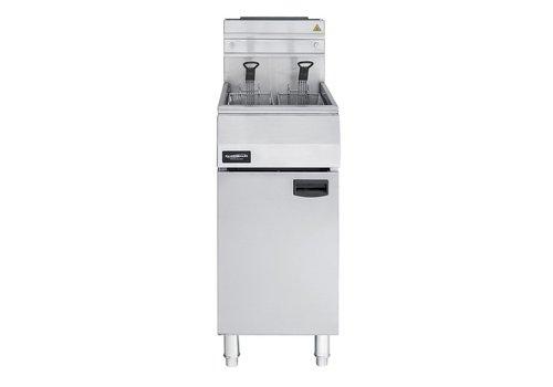 Combisteel Professionele gas friteuse staand -1 X 21 Liter