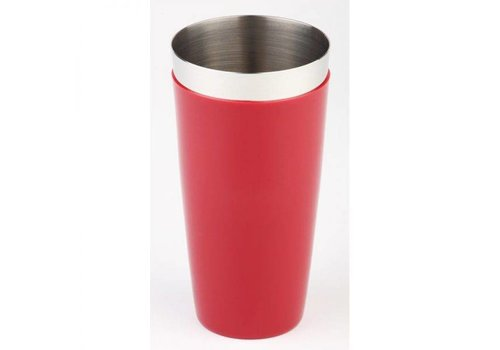HorecaTraders Boston Shaker Edelstahl-Tasse