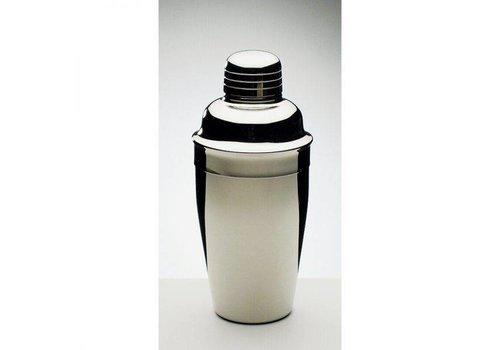 HorecaTraders Cocktail-Shaker mit Schraube   rostfrei
