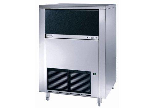 Brema IJsblokkenmachine - 130 kg / 24h - Lagerung 65 kg