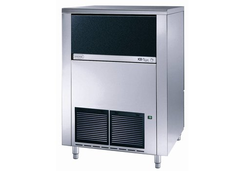 Brema IJsblokkenmachine - 130 kg / 24h - storage 65 kg