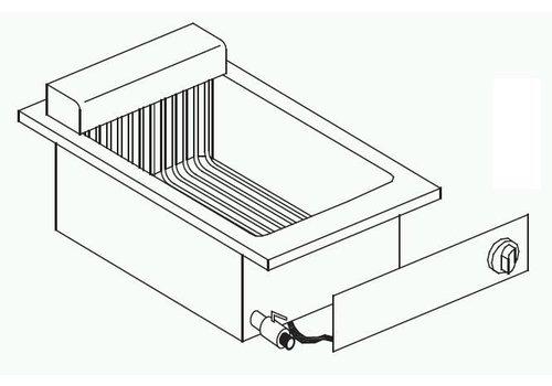 Combisteel Electric fryer installation | 1 x 8 liters
