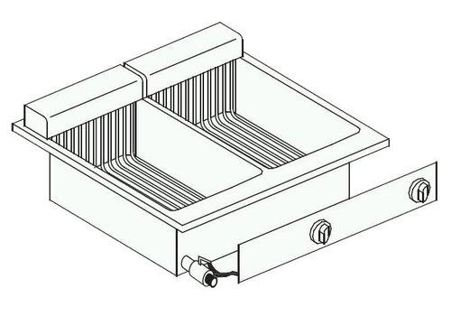 Combisteel Friteuse gebaut | 2 x 8 Liter