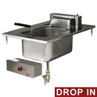 Diamond Fitted electric fryer 1 10 liter bowl