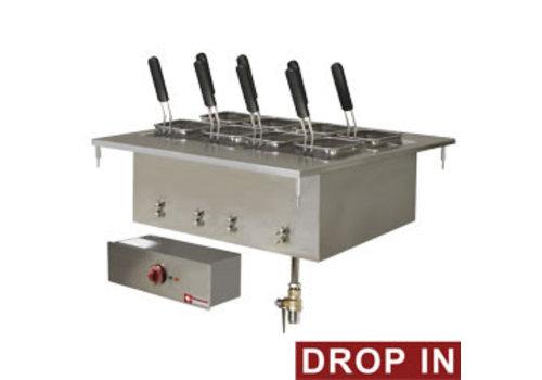 Diamond Inbouw Elektrisch pastakoker, 40 liters