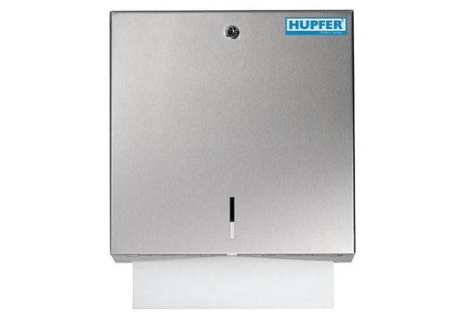 Hupfer RVS Handdoekdispenser met slot | 300 Vellen