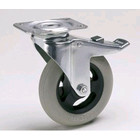 HorecaTraders Swivel wheels with Airbags and Brake Ø 125 mm