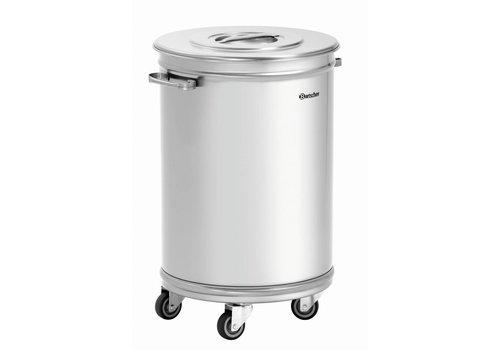 Bartscher Afvalemmer met wielen | 56 liter