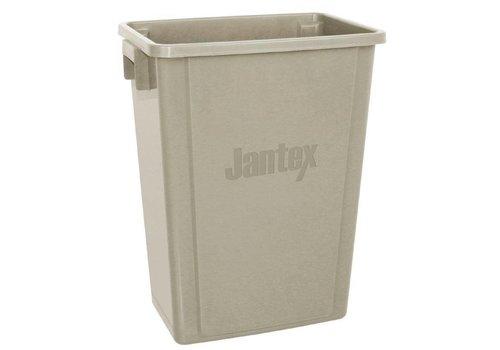 Jantex Recycle Bin Beige 56 Liter