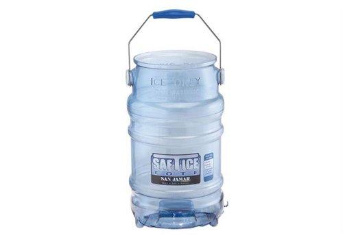 San Jamar Hygienische Eiskübel - 11 kg Eis