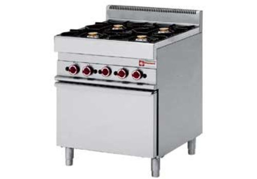 Diamond Gas cooker 4 Burners 3.6 and 5kW with gas oven