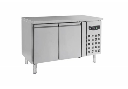 Combisteel Stainless steel refrigerated workbench with 2 doors - MOST SOLD