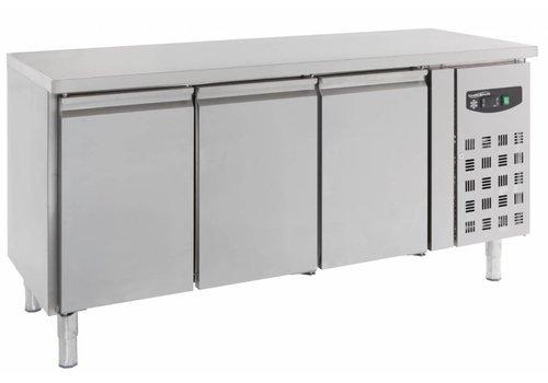 Combisteel Koelwerkbank 3 Deurs RVS | 123 x 48 x 56 cm