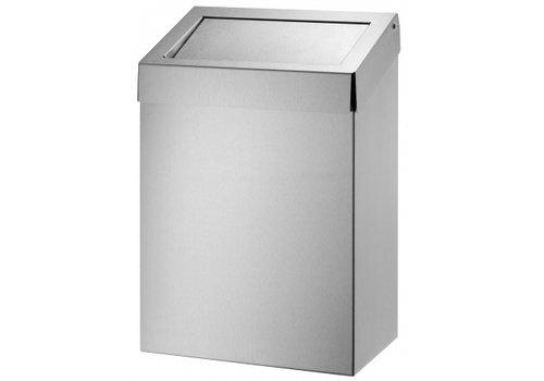 HorecaTraders Stainless steel Sanitary Waste bins Hufterproof