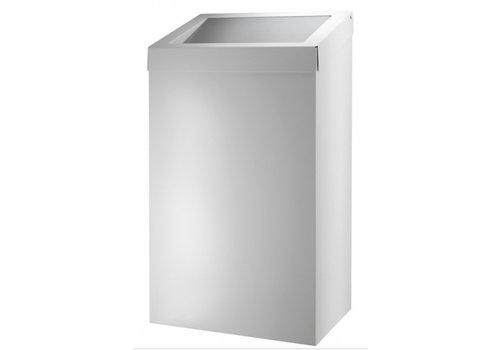 HorecaTraders Waste bin 50 liters white