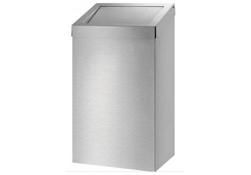 HorecaTraders Stainless steel waste bin   20 L