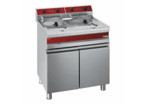 Diamond Electric Freezer Stainless Steel 2 x 14L