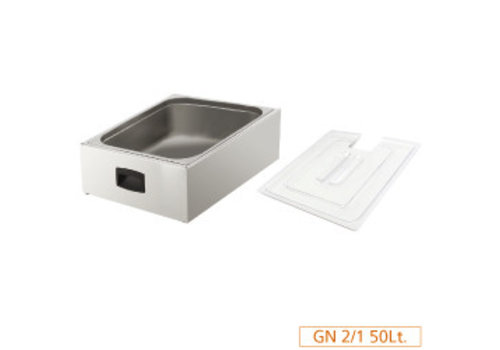 Diamond Kuip GN 2/1 for lid with lid   Cooking plus