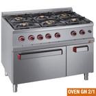 Diamond Diamond gas cooker with gas oven | 6 burners