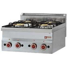 Diamond Gas cooker | 4 burners 2 x 3300 / 3600Watt